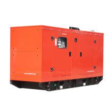 Generador de energía silencioso del motor diesel de 120kw con el motor de Wandi