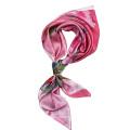 Красный цветной печатный шарф для женщин
