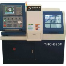 TNC-20H Double spindle Swiss type CNC lathe machine