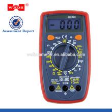 Multímetro digital DT33A con función de capacitancia de tamaño de bolsillo