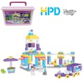 Colorful Building Blocks Bucket Storage Toys