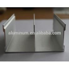 Perfiles de extrusión de aluminio / 6063 muebles perfil de aluminio / anodizado alfombra / anodizado y arena explosiva