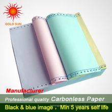 papier sans carbone