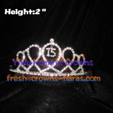 15th Birthday Crystal Tiaras
