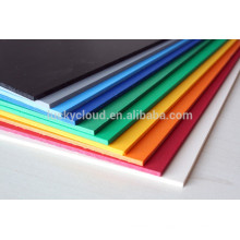 PVC foam core poster sheet or shops Waterproof pvc sign board for advertising f