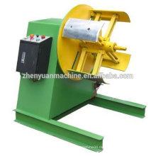 Automatische hydraulische decoiler Maschine / Abwickelmaschine