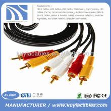 16FT 3 RCA Cable AV 5M
