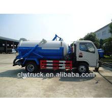 Camion à vide DFAC, camion d'aspiration sous vide de 3 cbm