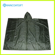 Nylon/Polyester Waterproof Reusable Rain Poncho