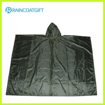 Nylon / Poliéster Impermeable Poncho de lluvia reutilizable