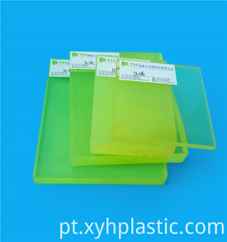 Transparent Clear PU Plates