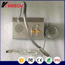 2017 Système d'interconnexion de fenêtre Koontech Bank Kndj-01 Interphone à double voie