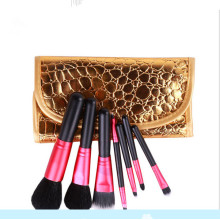 New 7PCS Makeup Brushes for Face Eye Cosmetic Tools with Texture Bag