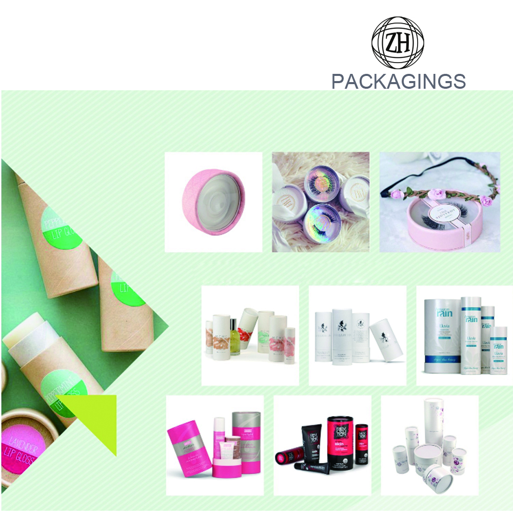Colorful+cardboard+tube+packaging+for+cosmetic
