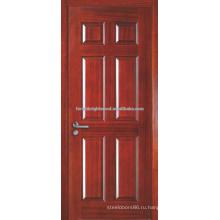Фабрика готовой 6 панели литьевые дверь