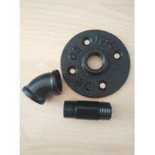 Calss 150 Black Malleable Iron Pipe Fitting