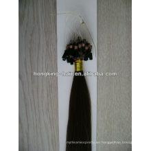 precio de fábrica barato mirco anillo extensiones de cabello