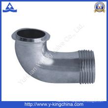 Raccord de tuyau en laiton coudé poli (YD-6031)