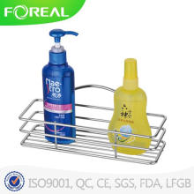 Metal Chromed Bathroom Corner Shampoo Rack