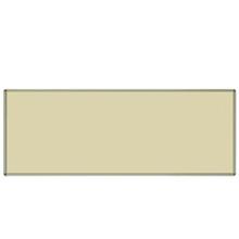 Tabla de escritura magnética de color crema para equipos de oficina / escuela