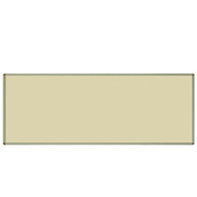 Cream-Colored Magnetic Writing Board for Office/School Equipment