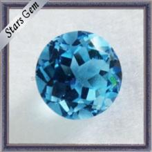 Topacio azul, piedras preciosas semi preciosas, gemas sueltas para la joyería