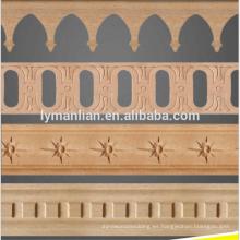 molduras de madera antiguas para gabinete
