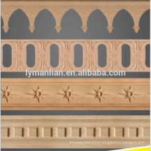 antique wood trim for cabinet