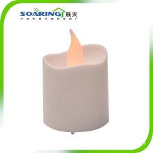 Gelbe flammenlose LED Teelicht Kerzen