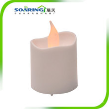 Bougies chauffe-plat LED sans flamme jaune