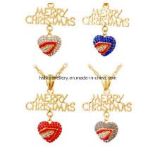 Jóias de natal / natal colar / pingentes de natal (xjw13343)