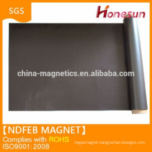 High elasticity natural rubber magnet sheet