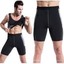 Calças de compressão apertadas esportes Leggings de treinamento Activewear Shorts