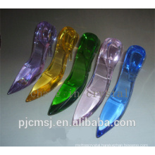 beautiful crystal high heel shoes for wedding gift favors