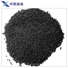 Активированный уголь используется для очистки выхлопных газов инертным газом
