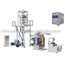 SD-45-YT-2600 pe film blowing and flexographic printing machine set