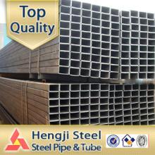 Schwarzes Stahlrohr Hohlprofil quadratisch / rechteckig