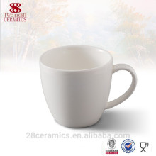 Wholesale ceramic drinkware coffee mug china white, can get free samples