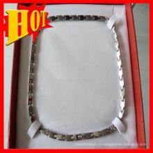 2015 горячая Распродажа титана ожерелье для мужчин