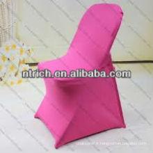 Couverture de chaise pliante, couverture de chaise de Spandex