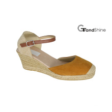 Women′s Espadrille Wedge Fashion Sandals
