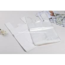 T-shirt en plastique d'emballage de sacs de chemise en gros