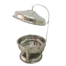 Hotel & Restaurant Supplies 8L Food Warmer /Brass & Copper Chafing Dish
