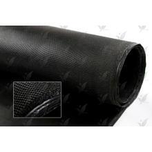 Стекловолоконная ткань с покрытием из силикона черного цвета