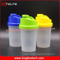 500ml BPA Free Plastic Protein Shaker Bottle with Filter (KL-7012B)