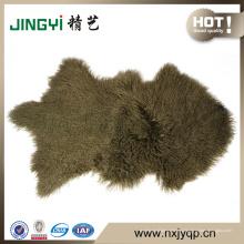 Первый класс монгольский Тибет ягненка меховой овчины 50X90cm