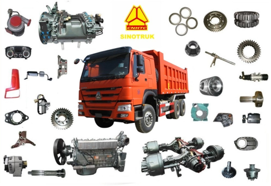 Truck spare parts2