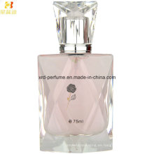 Perfume de mujeres de la botella de cristal de Polising