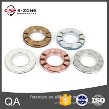 Divers types d'anneaux de rideau de cuivre anciens en Chine
