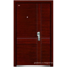 Стальные деревянные двери (LT-324)